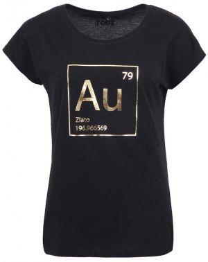 8636733702e6 Čierne dámske tričko ZOOT Originál Zlato