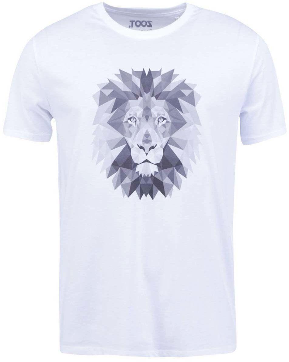 dc1089e357dcf Biele pánske tričko ZOOT Originál Lev značky ZOOT Originál - Lovely.sk