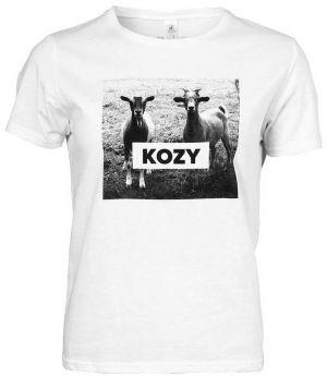 Biele dámske tričko ZOOT Originál KOZY 123c53b4a15