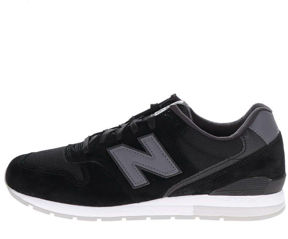 Čierne pánske semišové tenisky New Balance značky New Balance - Lovely.sk d36d894d7ce
