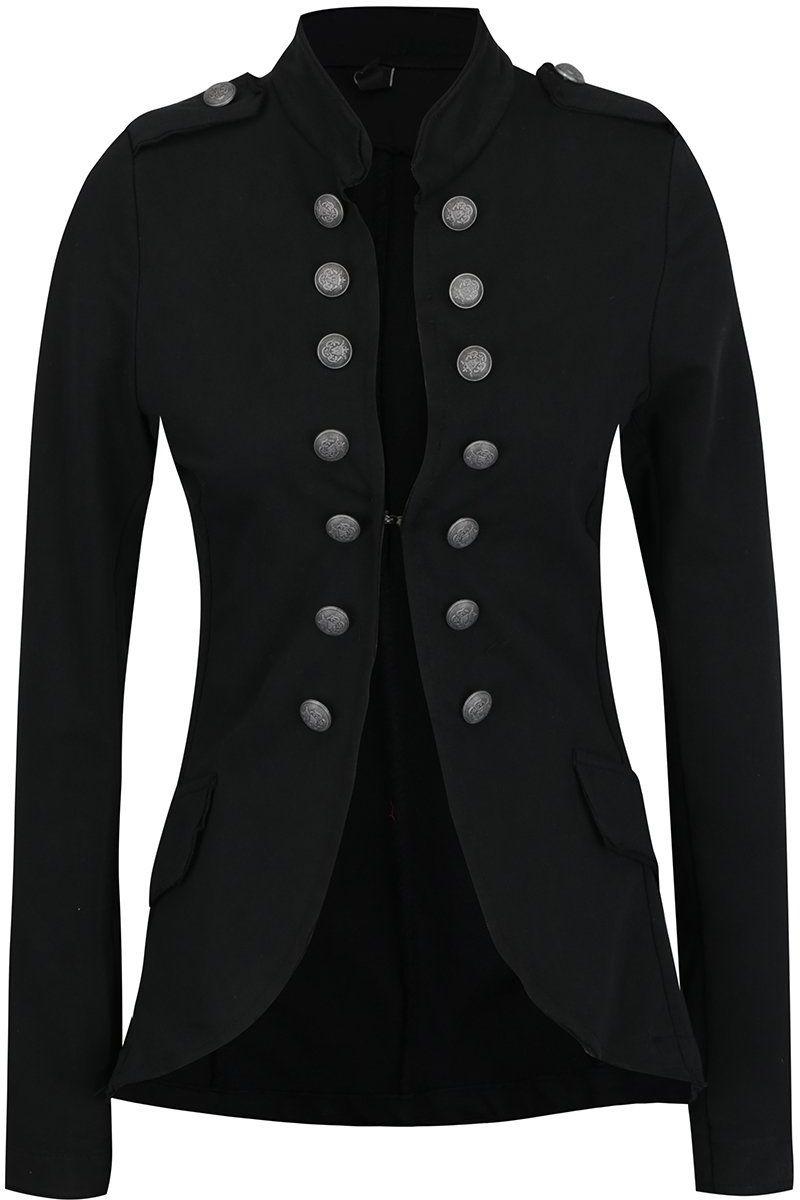 Čierne sako s gombíkmi Madonna Nejla značky Madonna - Lovely.sk c30726eb6bf