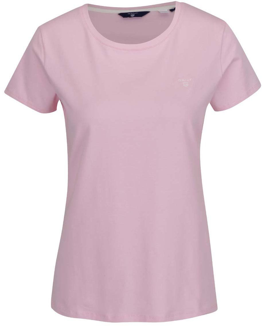 254e97936 Svetloružové dámske tričko GANT značky Gant - Lovely.sk
