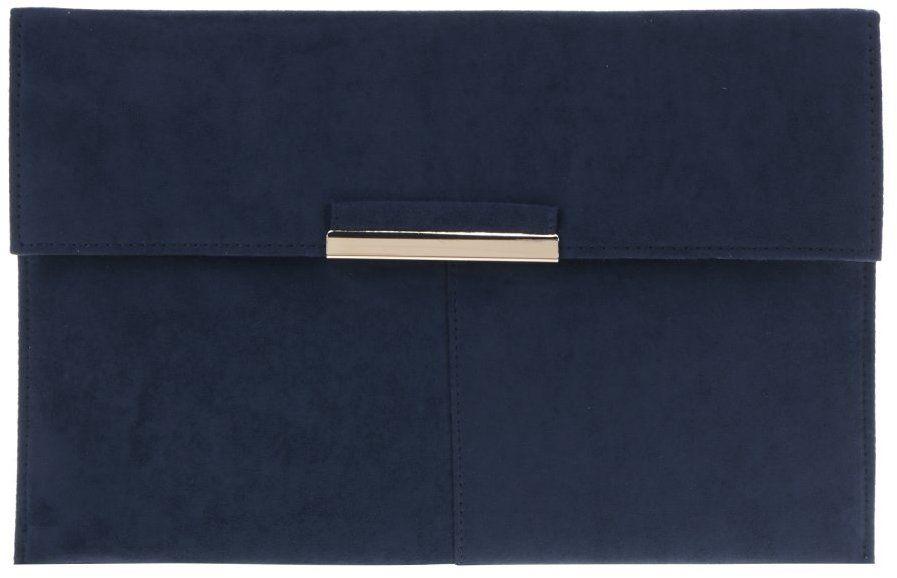 562a99df10 Tmavomodrá listová kabelka v semišovej úprave Dorothy Perkins značky  Dorothy Perkins - Lovely.sk