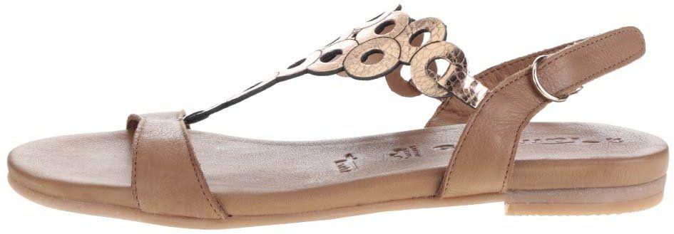 57340db15d Hnedé kožené sandále Tamaris značky Tamaris - Lovely.sk