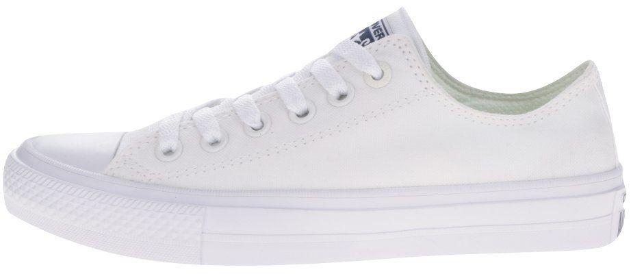 Biele dámske tenisky Converse Chuck Taylor All Star II značky Converse -  Lovely.sk 3b4bd1cb352