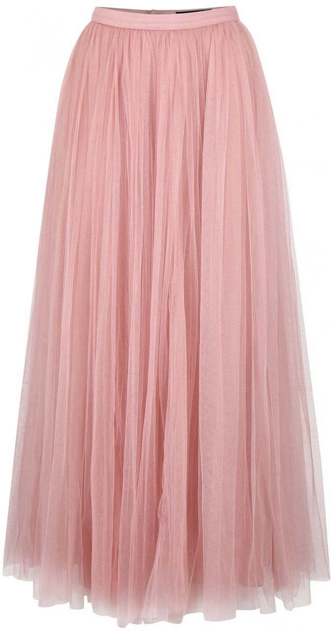 d9635200437f Ružová tylová maxi sukňa Little Mistress značky Little Mistress - Lovely.sk