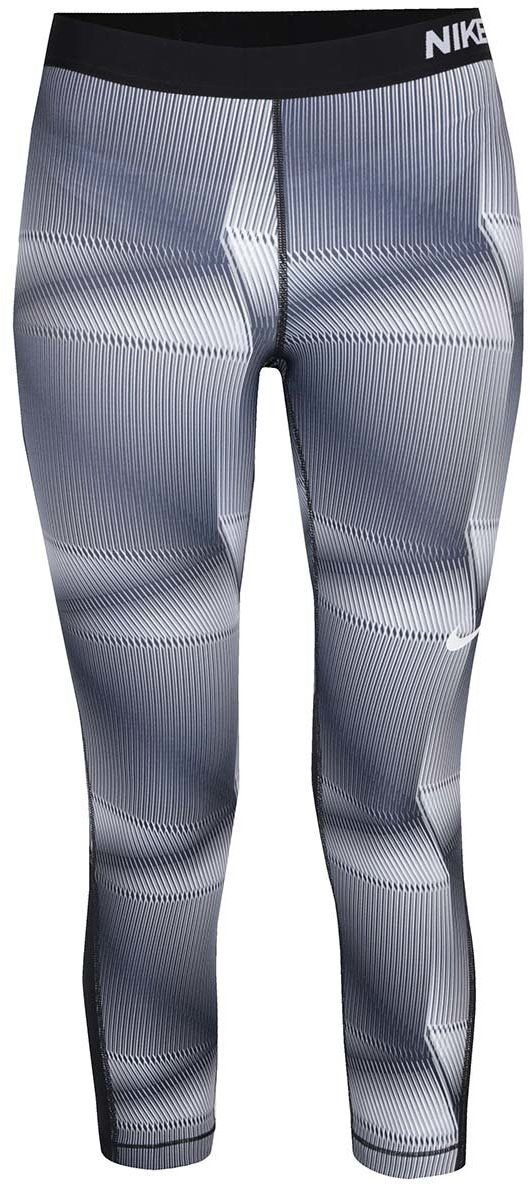 Modro-sivé dámske vzorované funkčné 3 4 legíny Nike Pro Cool značky Nike -  Lovely.sk 6b0dffcacb