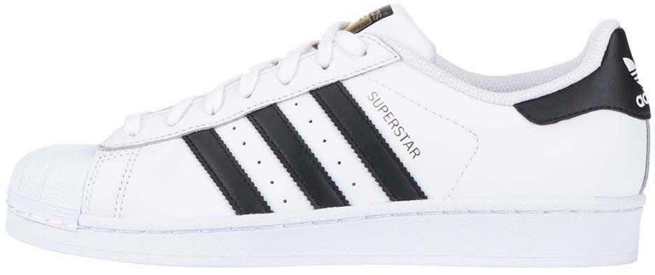 eabe262ed2ec Čierno-biele pánske kožené tenisky adidas Originals Superstar značky adidas  Originals - Lovely.sk