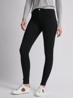 Čierne skinny fit rifle Dorothy Perkins Tall Frankie