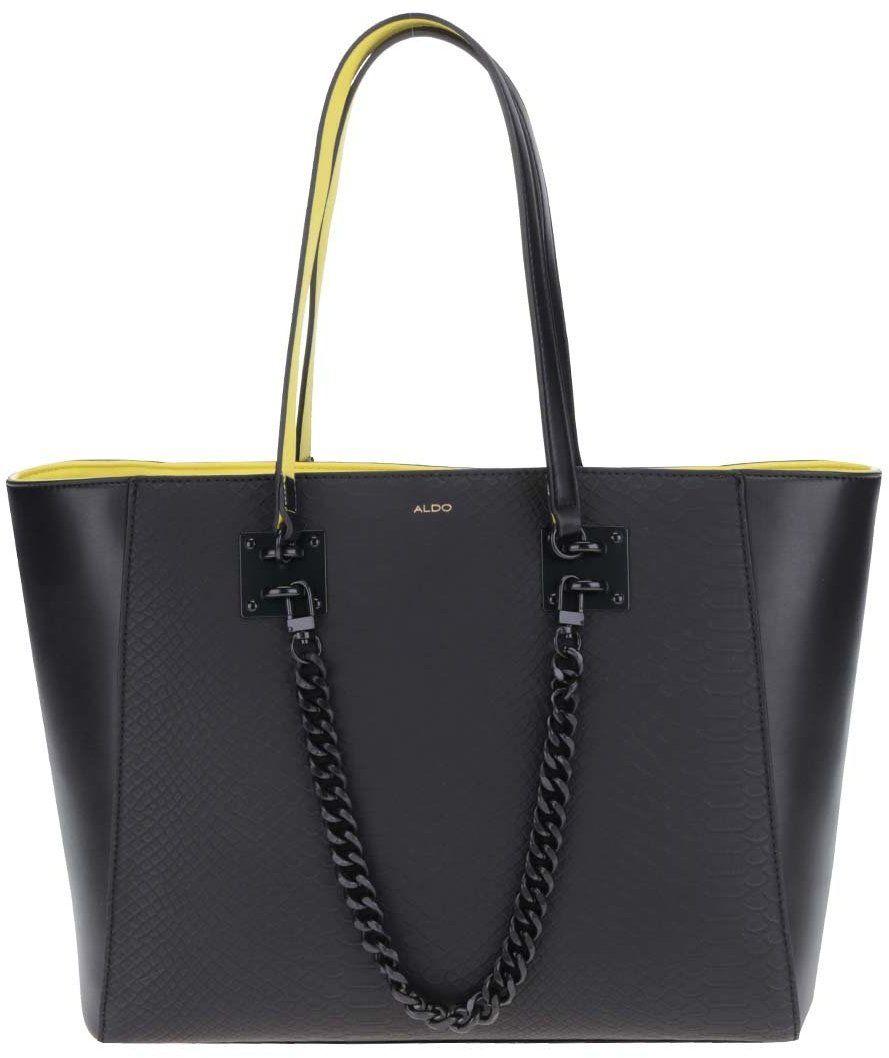 Žlto-čierna kabelka s jemným vzorom ALDO Unieni značky ALDO - Lovely.sk f627a672531