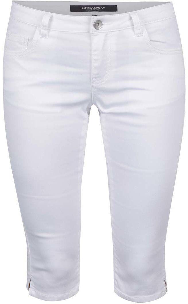 df6220148ba6 Biele dámske ¾ nohavice s prímesou juty Broadway Kenzie značky Broadway -  Lovely.sk