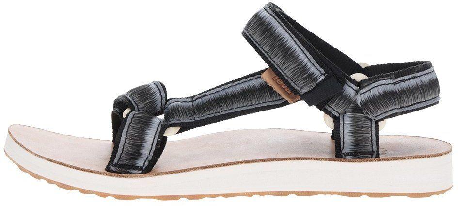 536267585 Sivo-čierne melírované dámske sandále Teva značky Teva - Lovely.sk