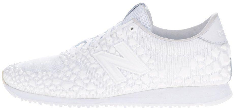 45bc6da8c8 Biele dámske tenisky s plastickým vzorom New Balance značky New Balance -  Lovely.sk