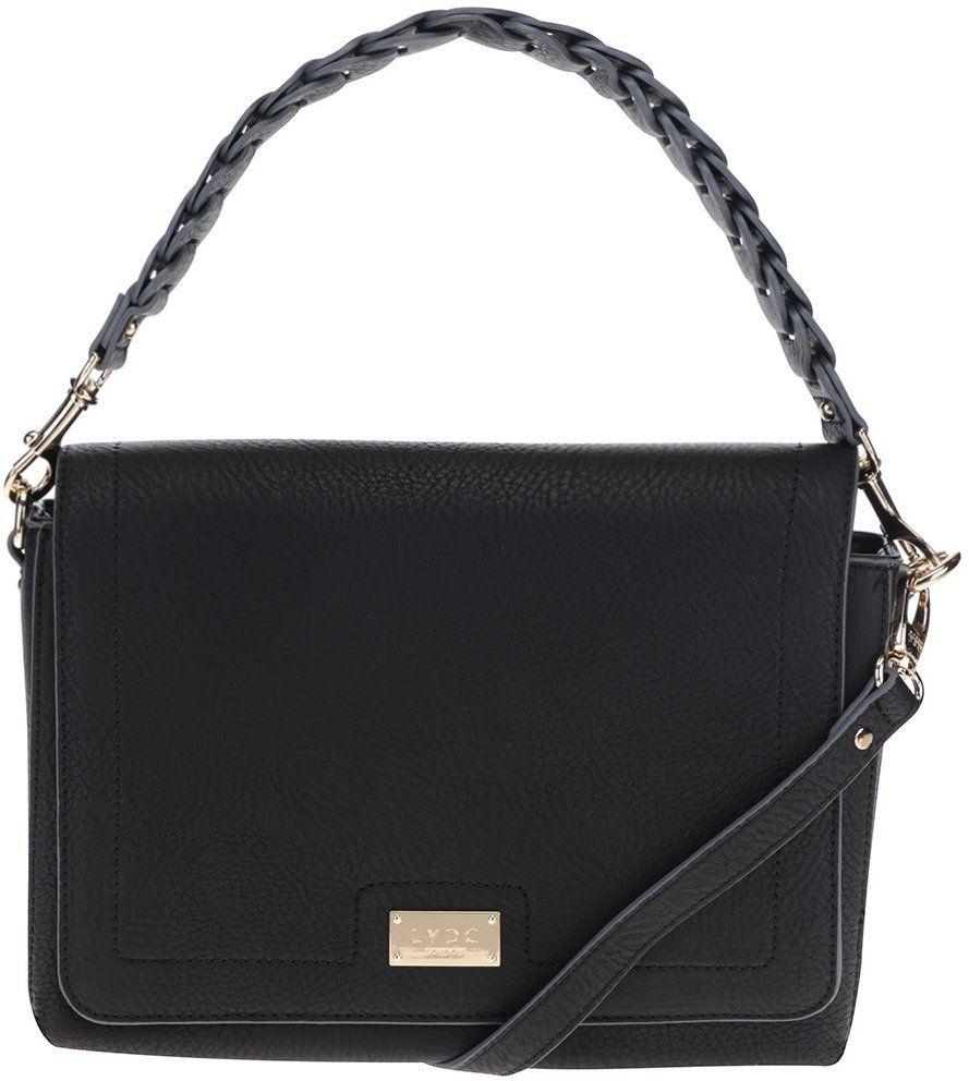 c4f56708ae Čierna kabelka do ruky LYDC značky LYDC - Lovely.sk