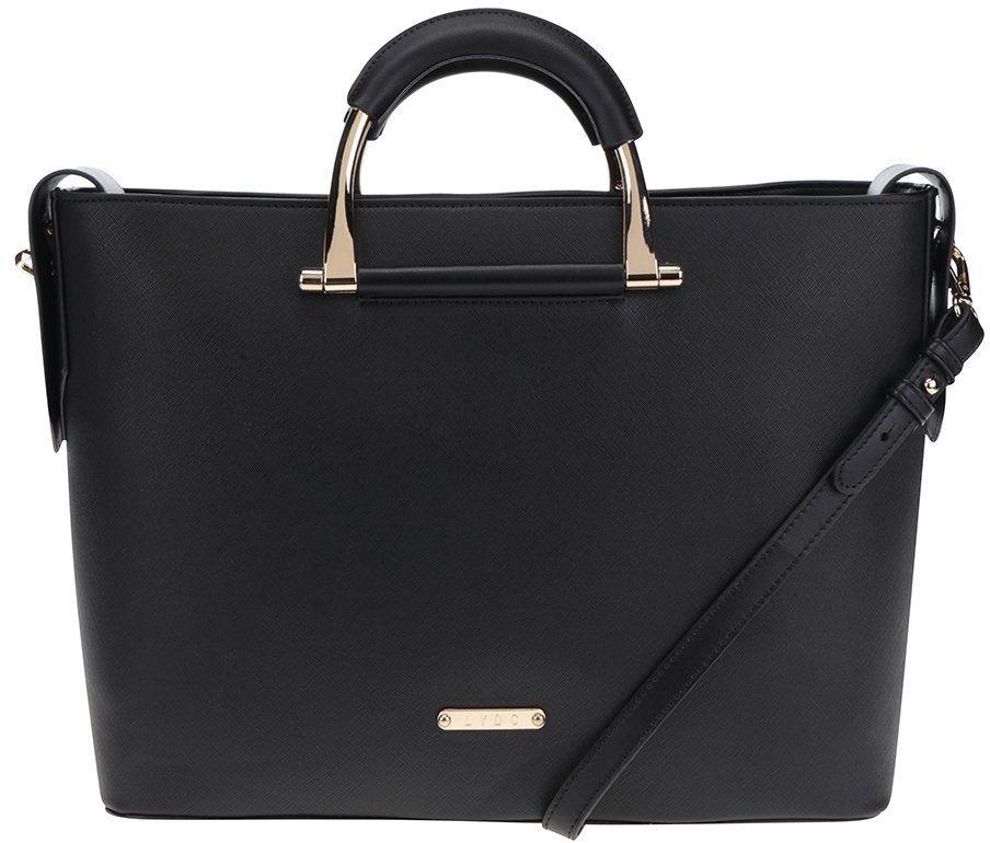 7c45e6bc85 Čierna veľká kabelka do ruky LYDC značky LYDC - Lovely.sk