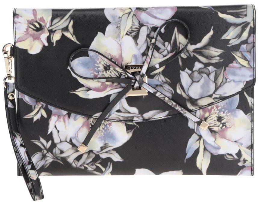 Krémovo-čierna kvetinová listová kabelka LYDC značky LYDC - Lovely.sk 133c8cd3998