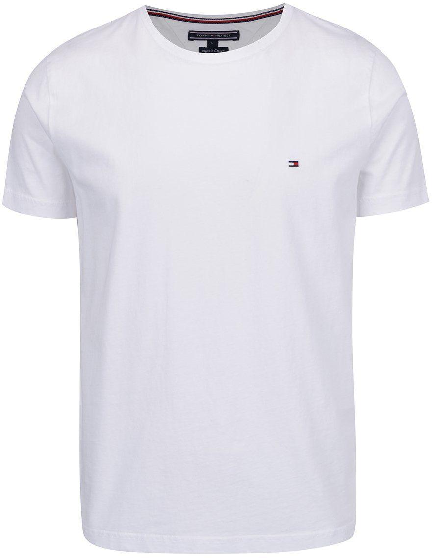 Biele pánske basic tričko Tommy Hilfiger značky Tommy Hilfiger - Lovely.sk ad602d27b1d