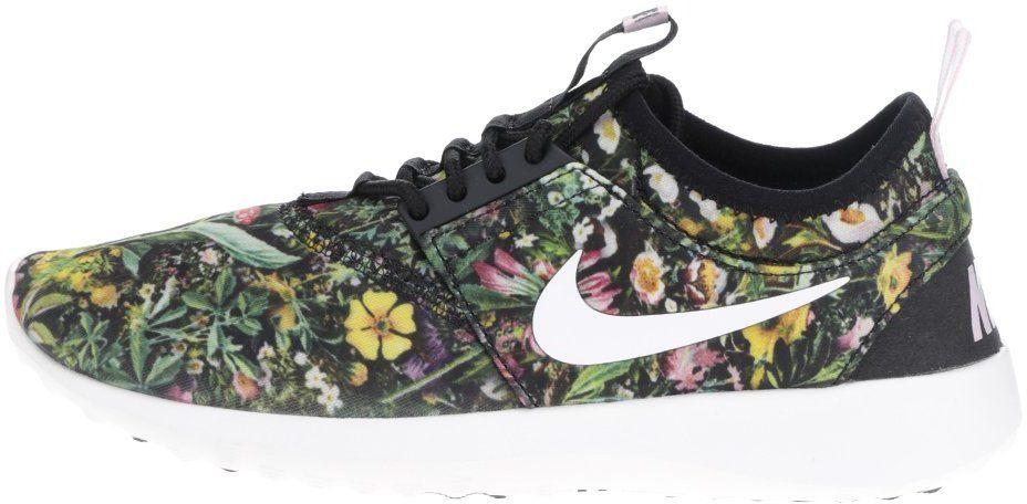 12e7d72d04ae Zelené kvetované dámske tenisky Nike Juvenate značky Nike - Lovely.sk