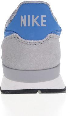 Sivé pánske tenisky so semišovými detailmi Nike Internationalist galéria dc9e8593014