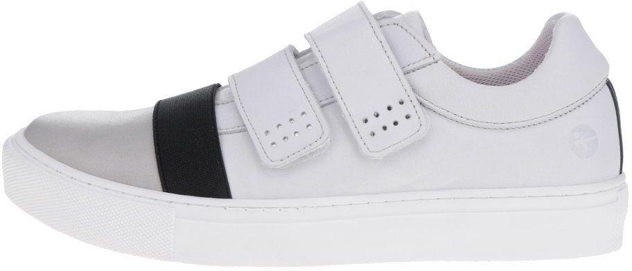 be79c554ffe8 Čierno-biele tenisky na suchý zips Tamaris značky Tamaris - Lovely.sk