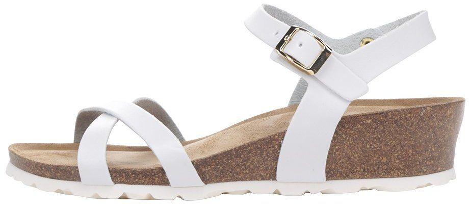 f30aa95647 Biele dámske sandále na platforme OJJU značky OJJU - Lovely.sk