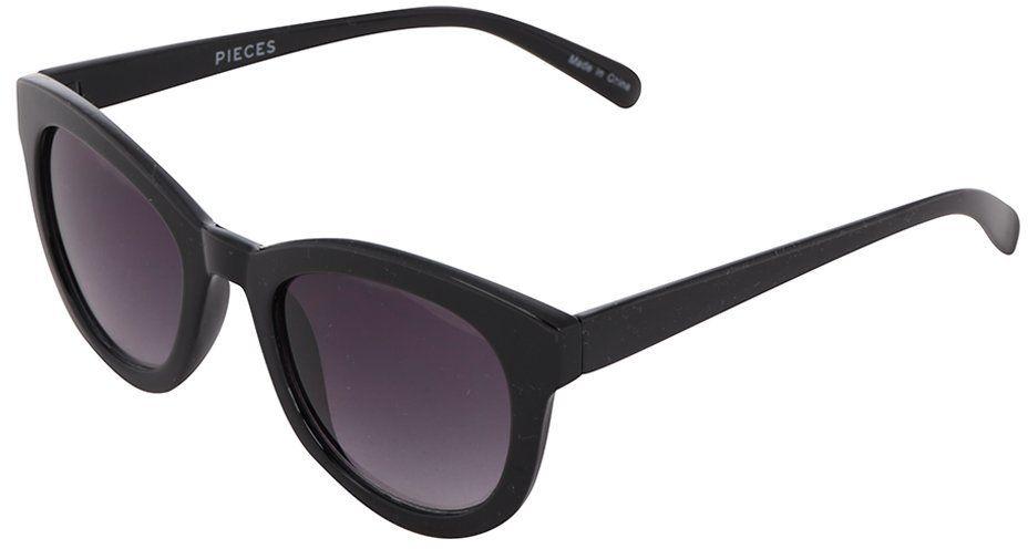7e153371d Čierne slnečné okuliare Pieces Kalinda značky Pieces - Lovely.sk