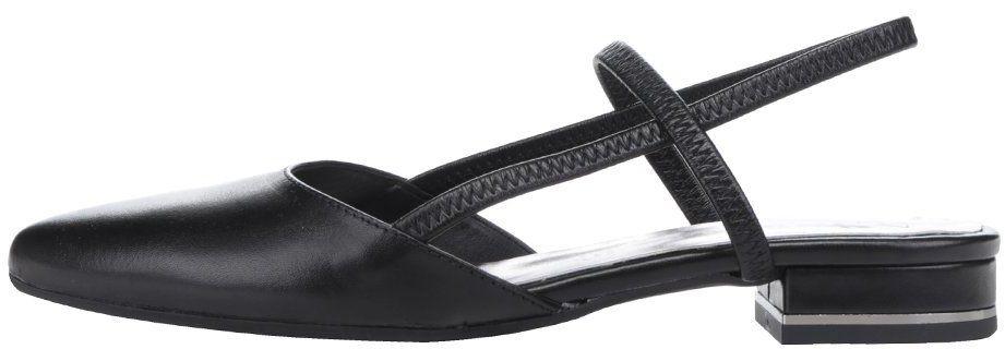 4bdcfaab3a88 Čierne kožené sandále s uzavretou špičkou Tamaris značky Tamaris - Lovely.sk