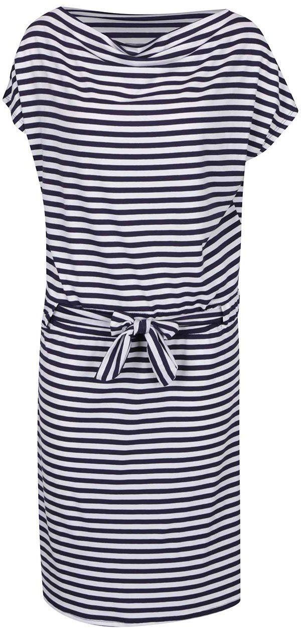 Modro-biele pruhované šaty s lodičkovým výstrihom ZOOT značky ZOOT -  Lovely.sk ebf744e5286