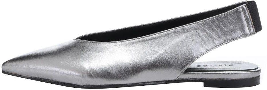614e105d32134 Sivé kožené sandálky Pieces Nashira značky Pieces - Lovely.sk