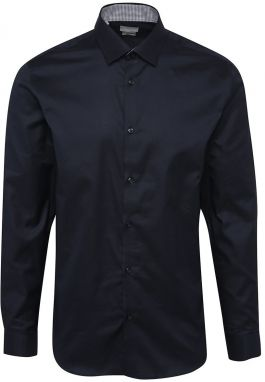 Tmavomodrá formálna slim fit košeľa Selected Homme One New