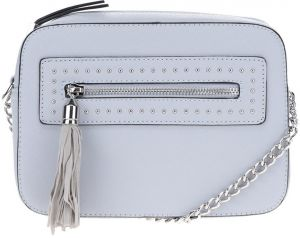 Modrá crossbody kabelka so strapcom Miss Selfridge