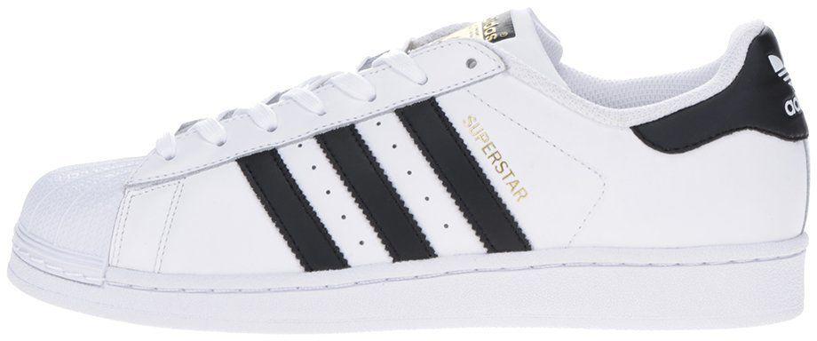 83db4d14875bf Biele pánske tenisky adidas Originals Superstar značky adidas Originals -  Lovely.sk