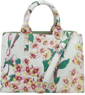 07a427beec1 Krémová kabelka s potlačou kvetov Fez by Fez Tracolla Fiore