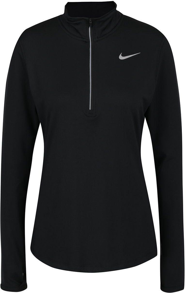2ceb744e4 Čierne dámske funkčné tričko s dlhým rukávom Nike značky Nike - Lovely.sk