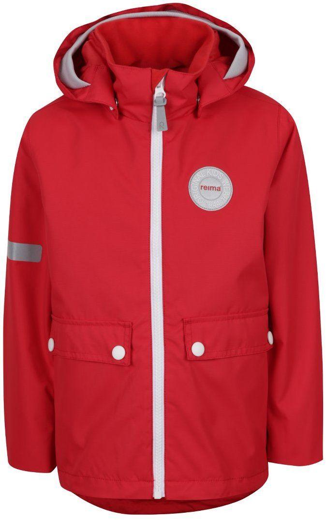 e75ab79e6e737 Červená chlapčenská vodeodolná bunda 2v1 Reima Taag značky Reima - Lovely.sk