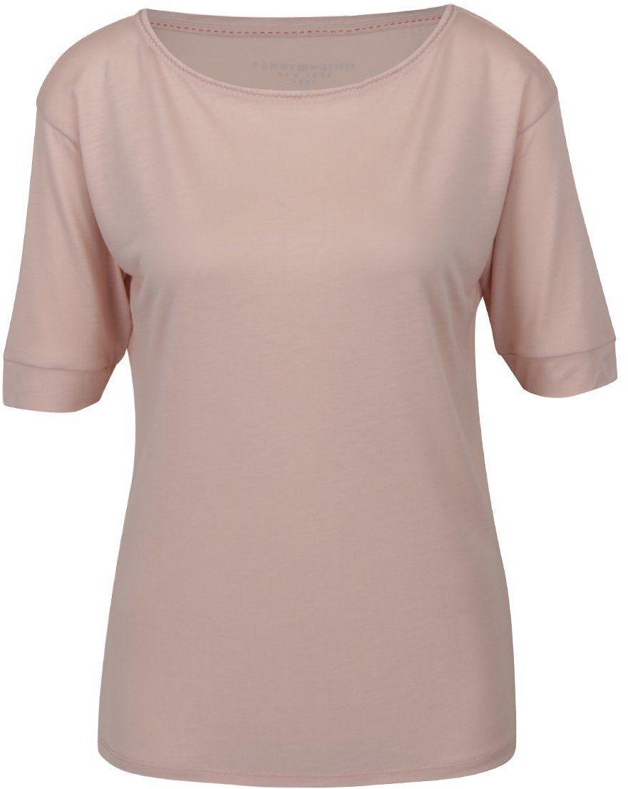 Svetloružové dámske tričko Tommy Hilfiger značky Tommy Hilfiger - Lovely.sk b9df5ae3c0