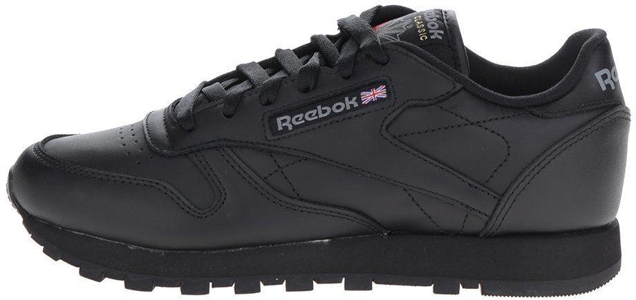 3297effb42 Čierne dámske kožené tenisky Reebok značky Reebok - Lovely.sk