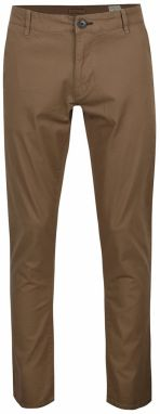 Hnedé chino nohavice Selected Homme Three Paris