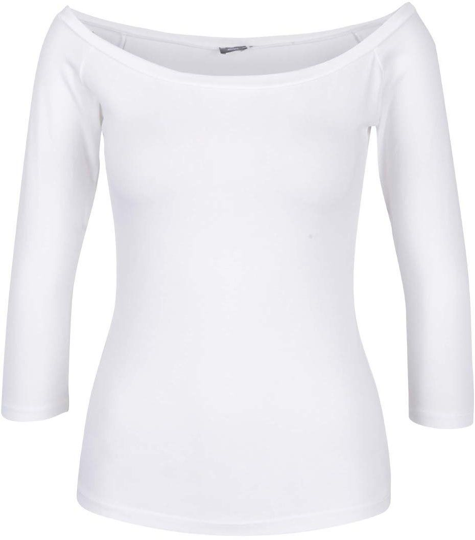 7fefcf747120 Biele tričko s lodičkovým výstrihom ZOOT značky ZOOT - Lovely.sk