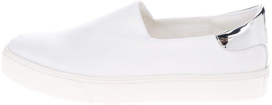 6c1315228ea0 Biele dámske slip on tenisky ALDO Lansdale značky ALDO - Lovely.sk