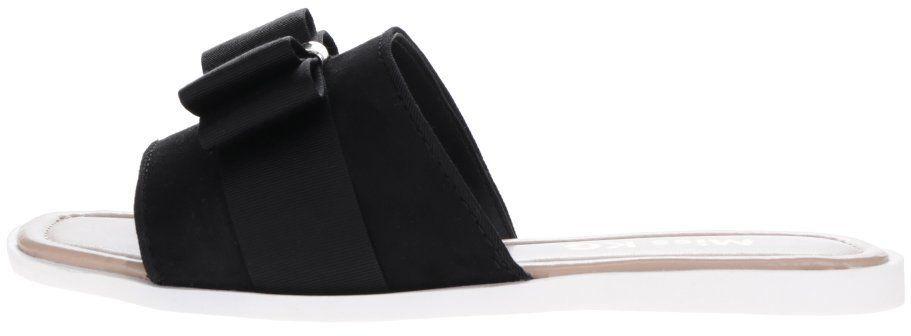 604e7726b0a31 Čierne šľapky s mašľou Miss KG Ribbon značky Miss KG - Lovely.sk