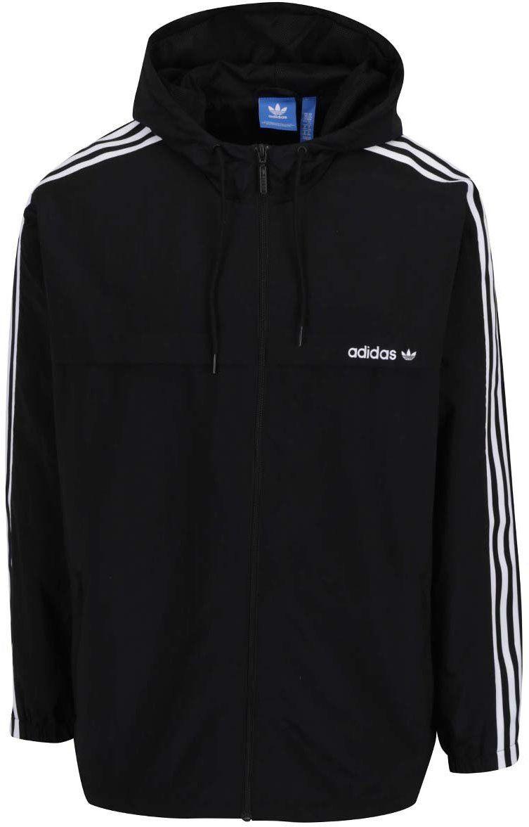 Čierna pánska bunda adidas Originals Strappy značky adidas Originals -  Lovely.sk 358e78ff45c