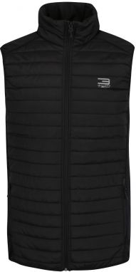 Čierna prešívaná bunda Jack & Jones Tech Multi Body Warmer