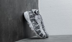 Nike Air Footscape Woven NM Wolf Grey/ Black-Dark Grey EUR 42