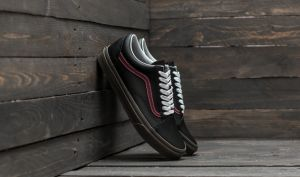 Vans Old Skool (Bleacher) Black/ Port/ Gum EUR 35