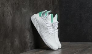 adidas Pharrell Williams PW Tennis HU Ftw White/ Ftw White/ Green Glow EUR 38