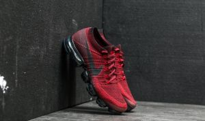 Nike Air Wapormax Flyknit Dark Team Red/ Black EUR 41