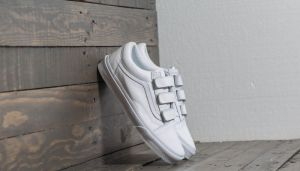 Vans Old Skool V (Mono Leather) True White EUR 42