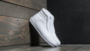 Vans Sk8-Hi Reissue Laceless (Leather) True White EUR 36
