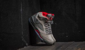 Air Jordan 5 Retro Dark Stucco/ River Rock/ Bio Beige/ University Red EUR 41
